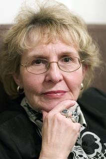 Dr. Jean Bethke Elshtain, Laura Spelman Rockefeller Professor of Social and Political Ethics at the University of Chicago Divinity School, spoke at Belmont on March 6, 2009